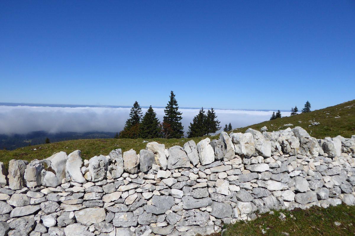 Ce mur arrêtera t'il la progression du brouillard