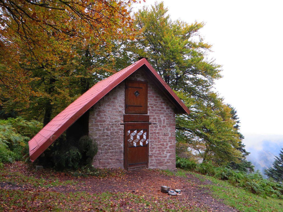 Le refuge du Schneeberg