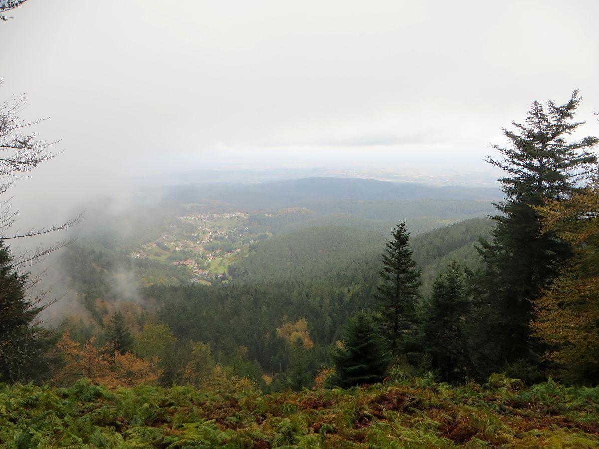 Une vue sur Wangenbourg