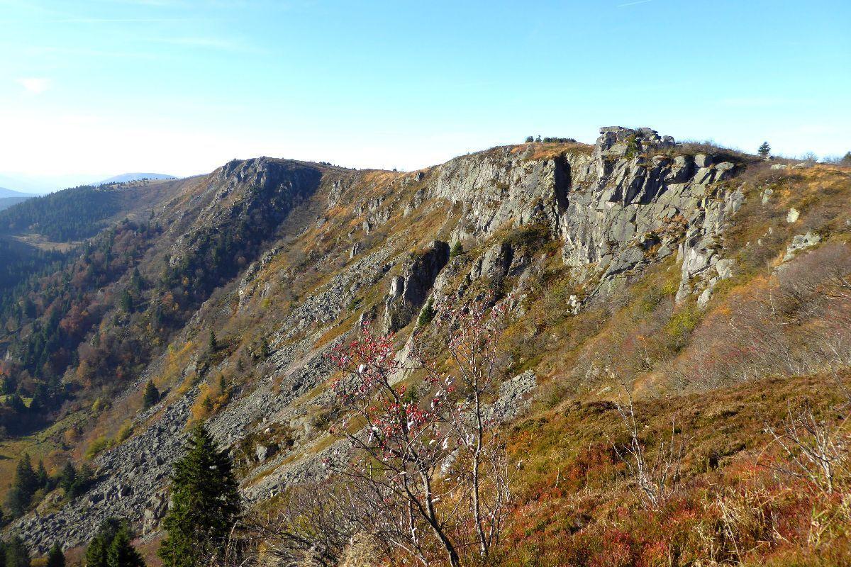 Paysage Alpin dans les Vosges