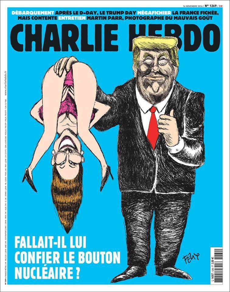 A la une de Charlie Hebdo n°1269