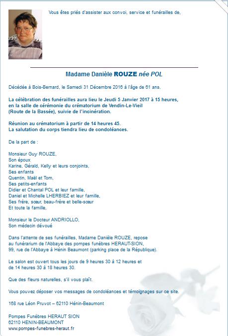 Décès de Danièle Rouzé : la section d'Hénin-Beaumont du PCF en deuil