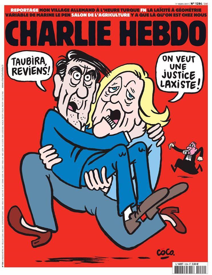 A la une de Charlie Hebdo n°1284