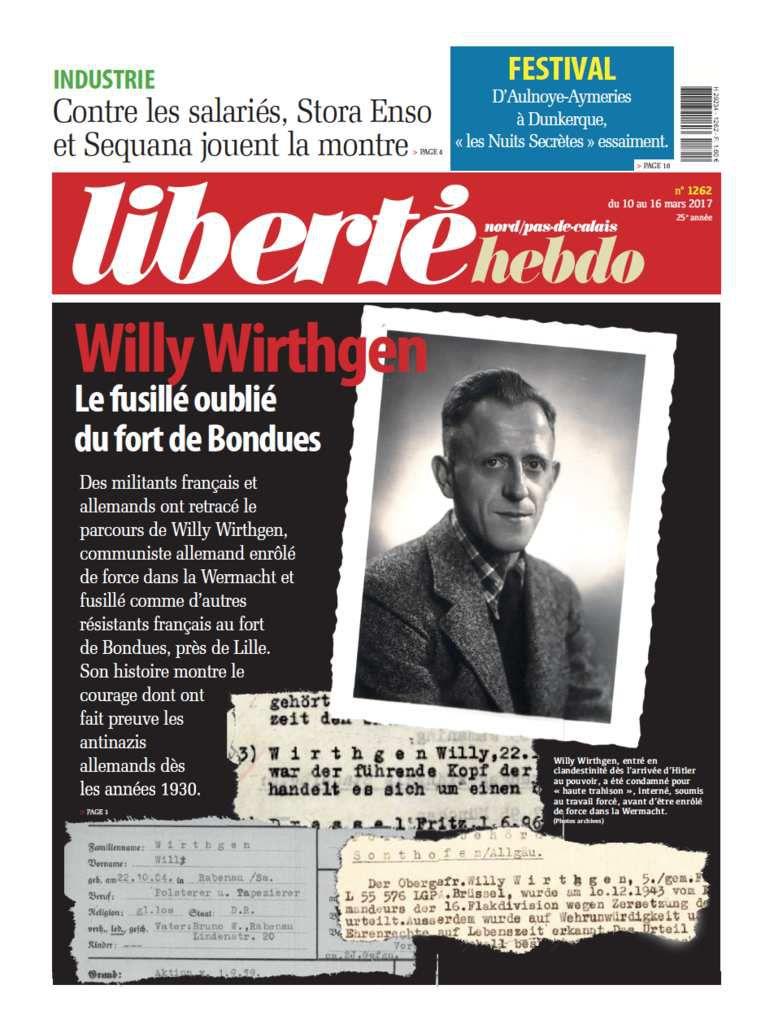 A la une de Liberté Hebdo n°1262