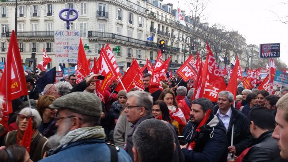 416 parrainages d'élus communistes et républicains pour la candidature de Jean-Luc Mélenchon