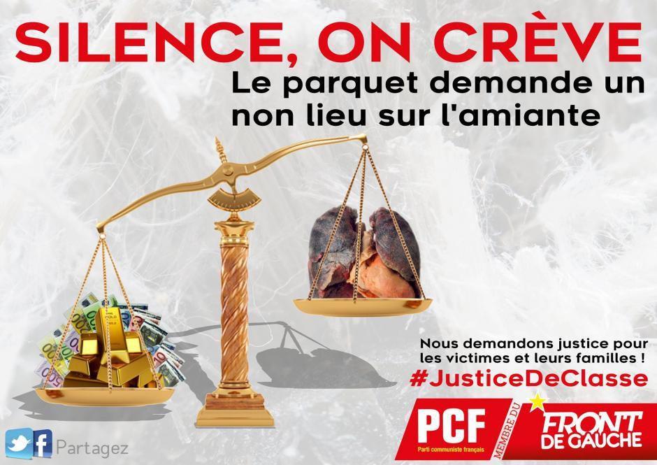 Déni de justice pour les victimes de l'amiante !