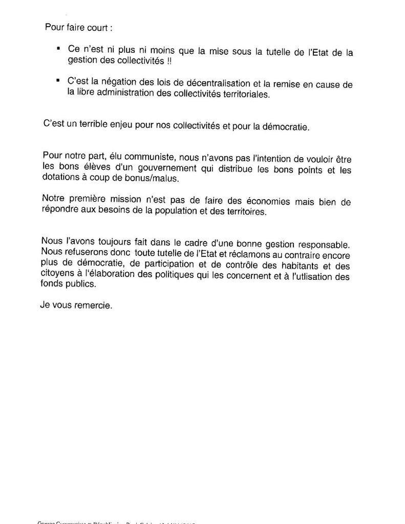Conseil départemental : l'intervention de Jean-Marc Tellier sur le Débat d'Orientation Budgétaire 2018