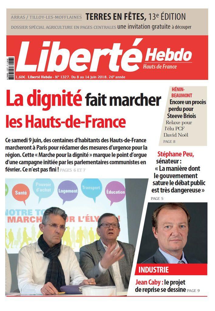 A la une de Liberté Hebdo n°1327