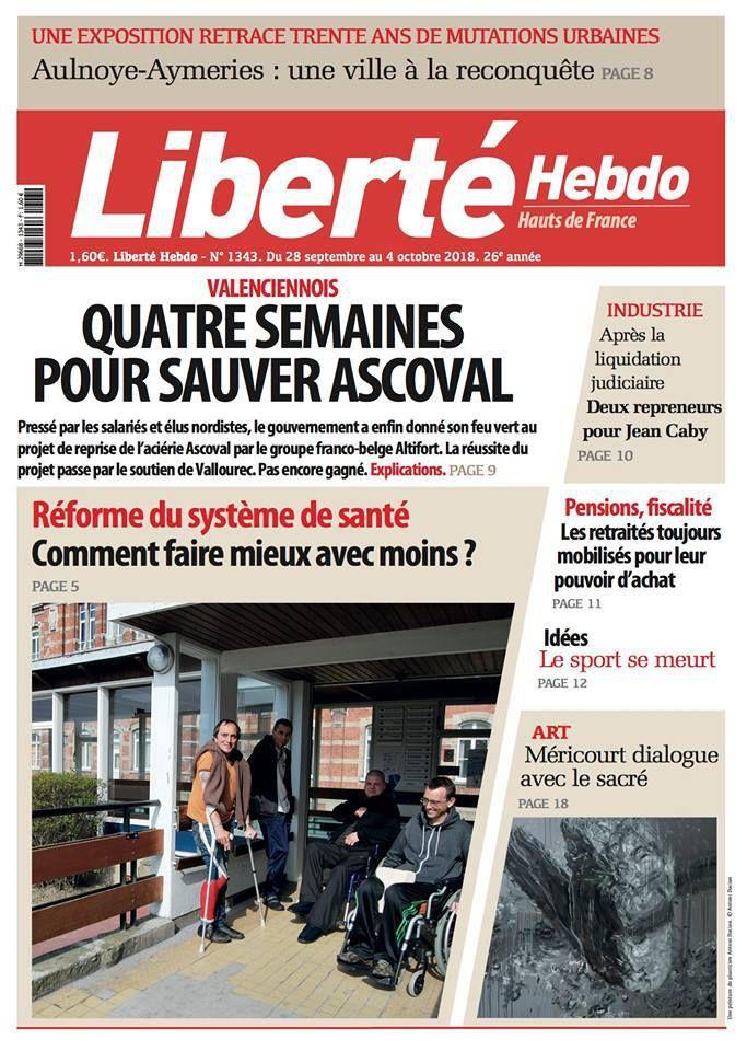 A la une de Liberté Hebdo n°1343