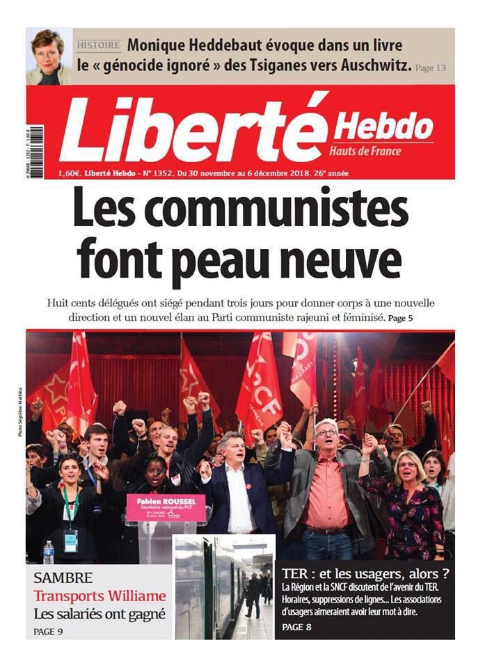 A la une de Liberté Hebdo n°1352