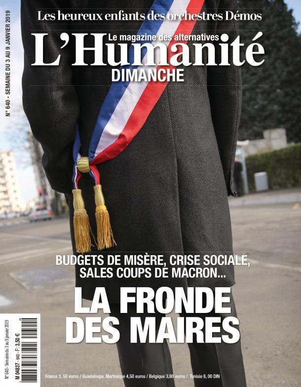 A la une de l'Humanité Dimanche (03-01-19)