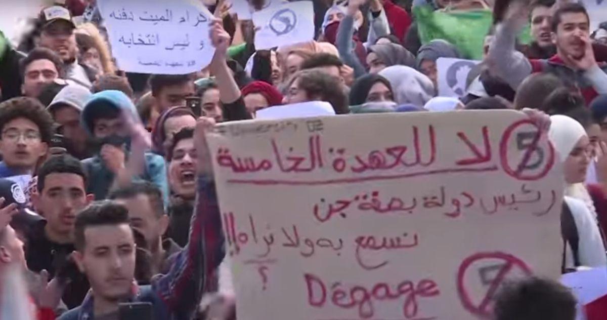 Soutien aux mobilisations populaires et pacifiques algériennes