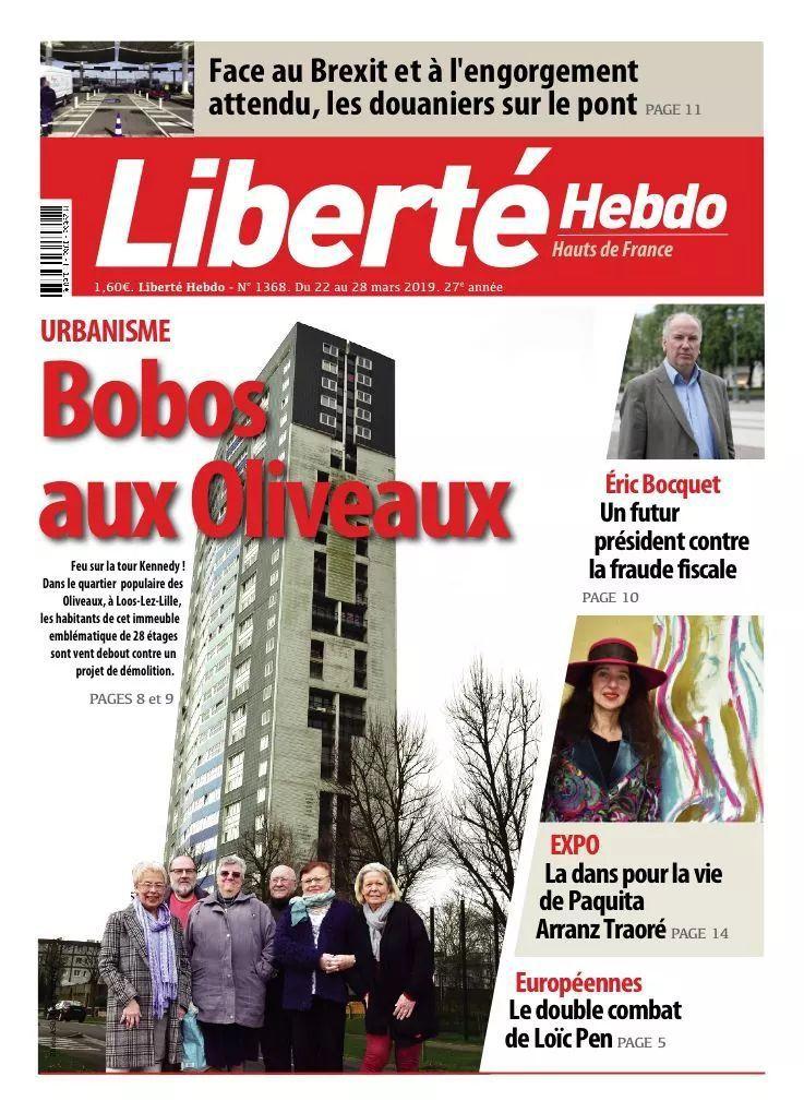 A la une de Liberté Hebdo n°1368