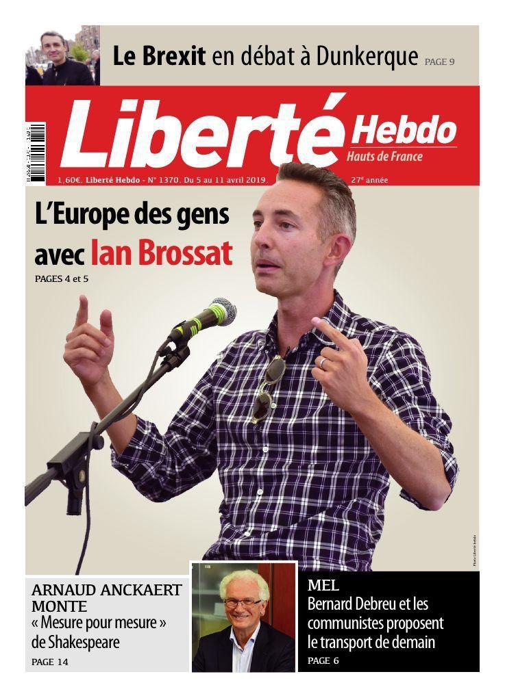 A la une de Liberté Hebdo n°1370