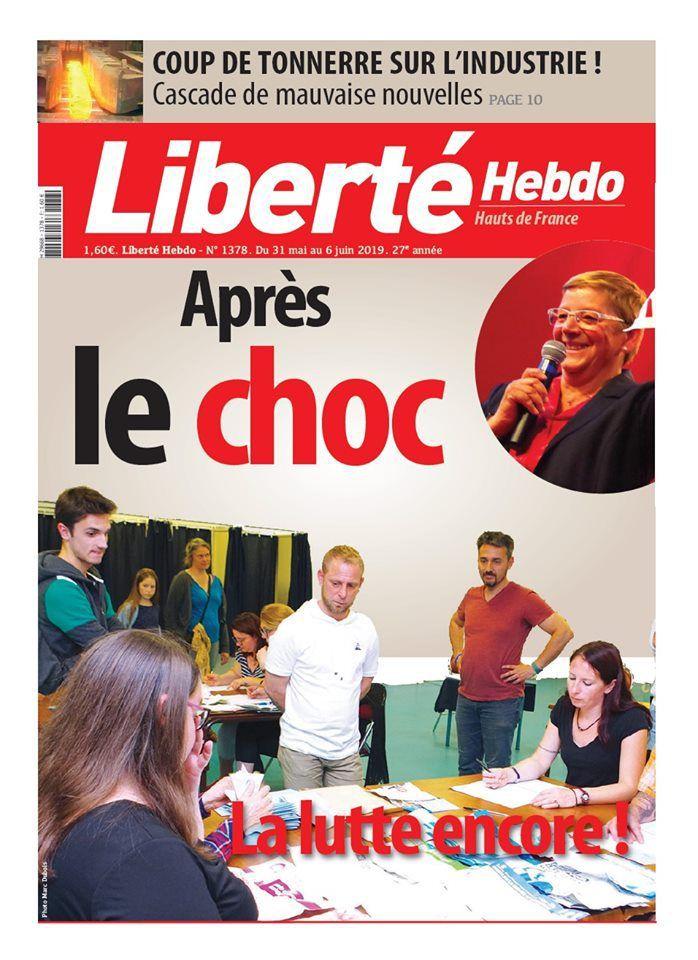A la une de Liberté Hebdo n°1378