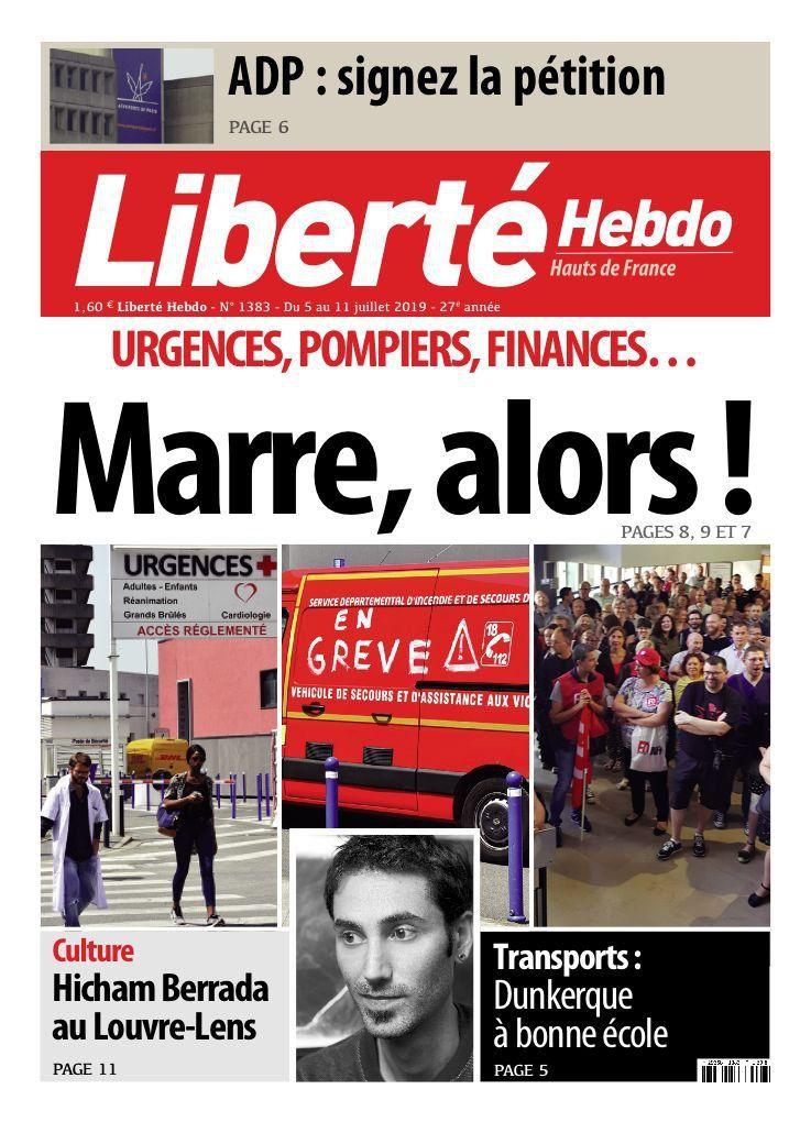 A la une de Liberté Hebdo n°1383