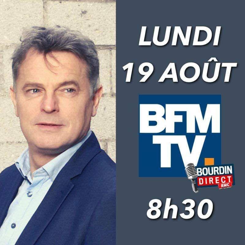 Fabien Roussel ce matin sur BFM-TV