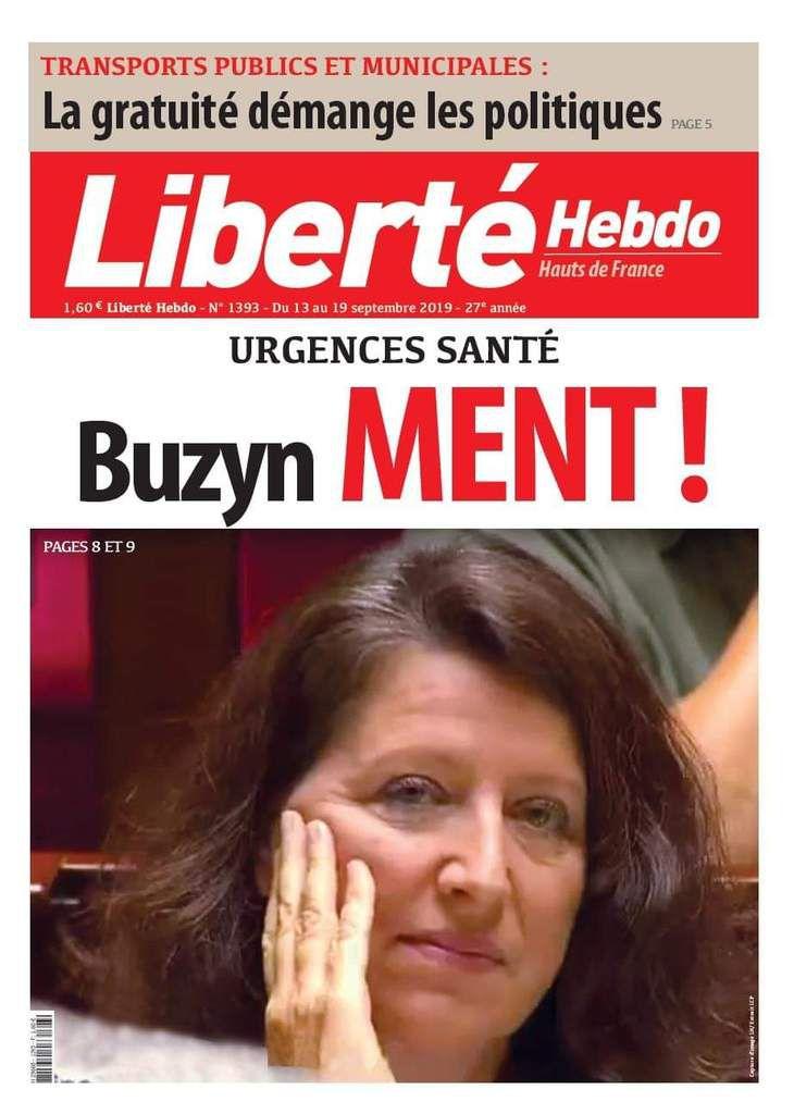 A la une de Liberté Hebdo n°1393