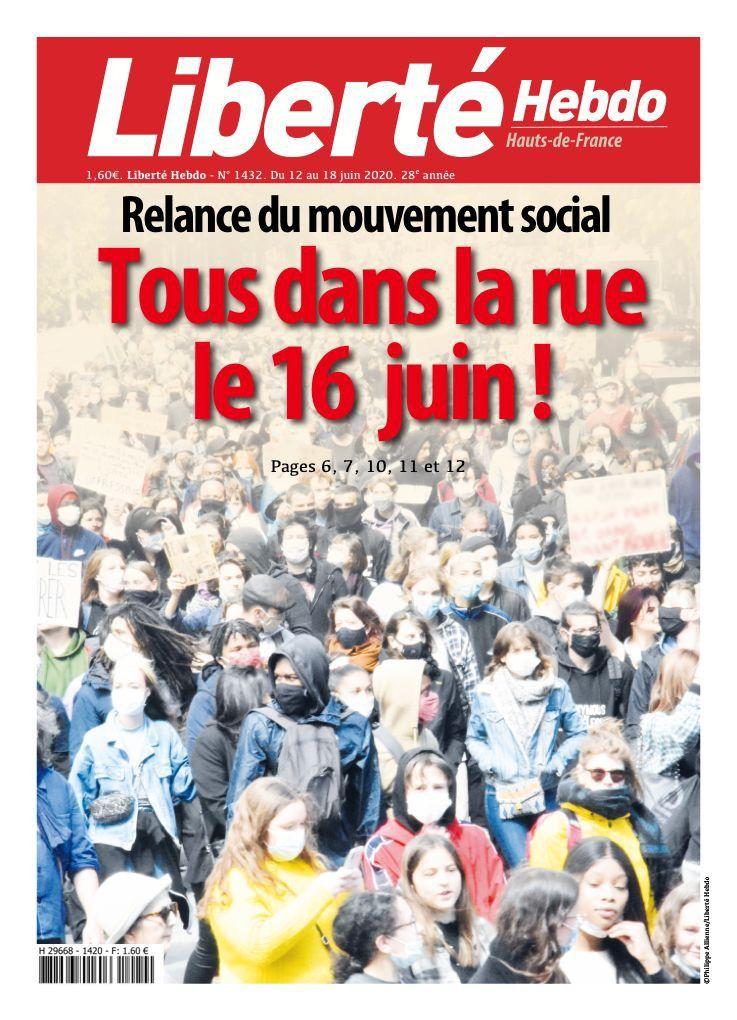 A la une de Liberté Hebdo n°1432