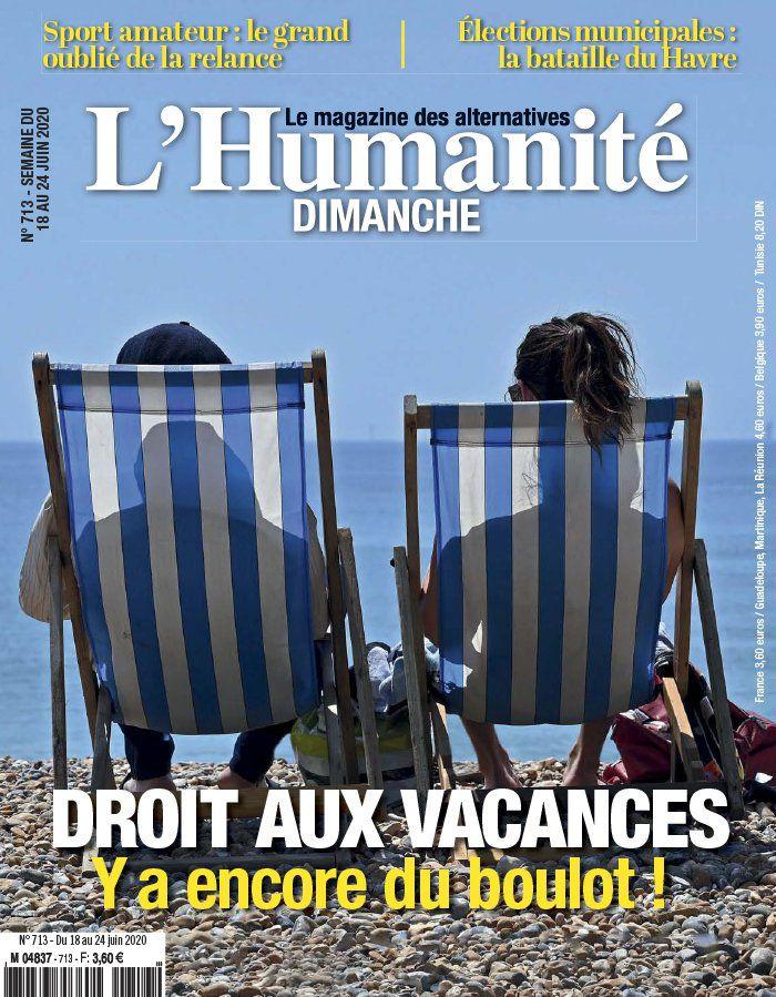 A la une de l'Humanité Dimanche (18-06-20)
