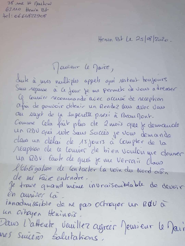 La majorité RN d'Hénin-Beaumont a-t-elle un problème avec la boulangerie de Beaumont ?