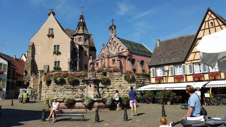 Eguisheim ( Haut-Rhin )