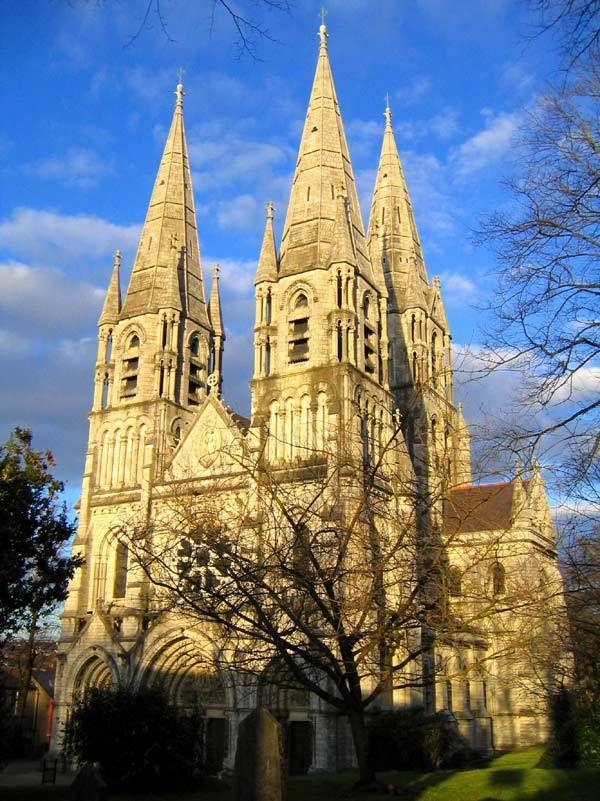 Cathédrale Saint Finbarr à Cork, Irlande