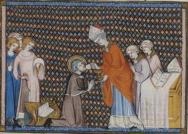 Saint Louis, roi de France (Grandes choliques du XIV è siècle)