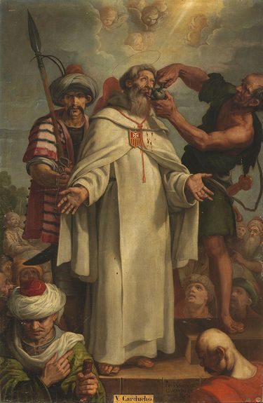 Martyre de Saint Raymond par V. Carducho (musée du Prado)