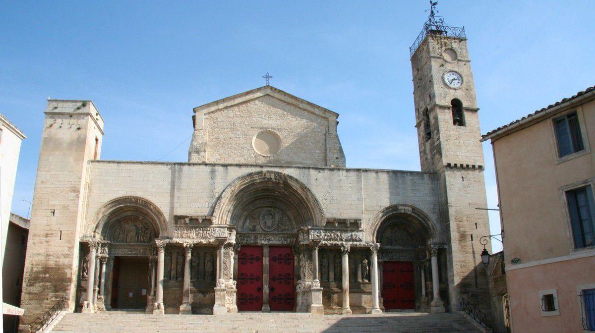 Ancienne abbaye puis collégiale de Saint Gilles du Gard