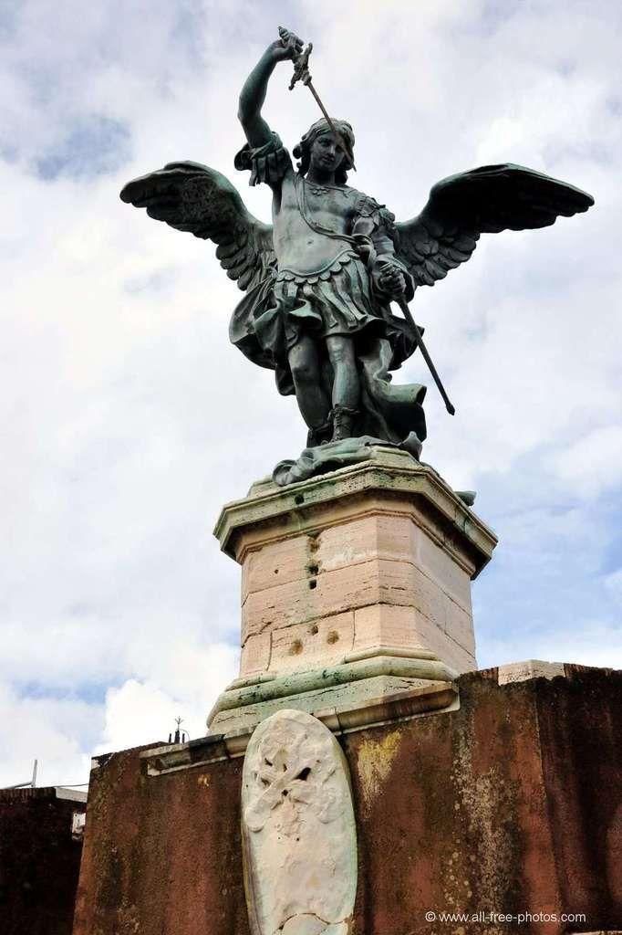 L'Archange Saint Michel, Château Saint-Ange, Rome