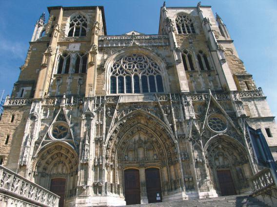 Cathédrale Saint Maurice de Vienne  en Dauphiné