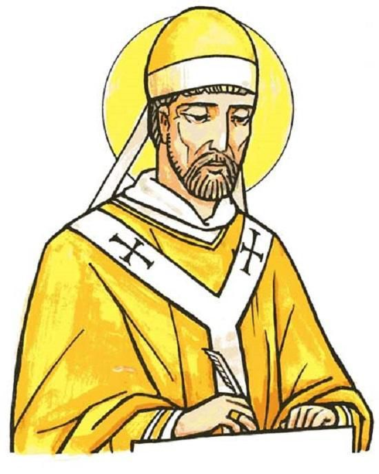 Saint Adon Archevêque de Vienne en Dauphiné