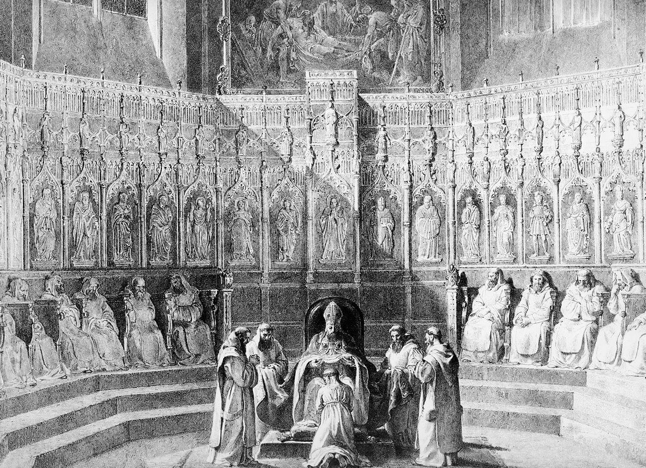 Magnifiques stales de la cathédrale
