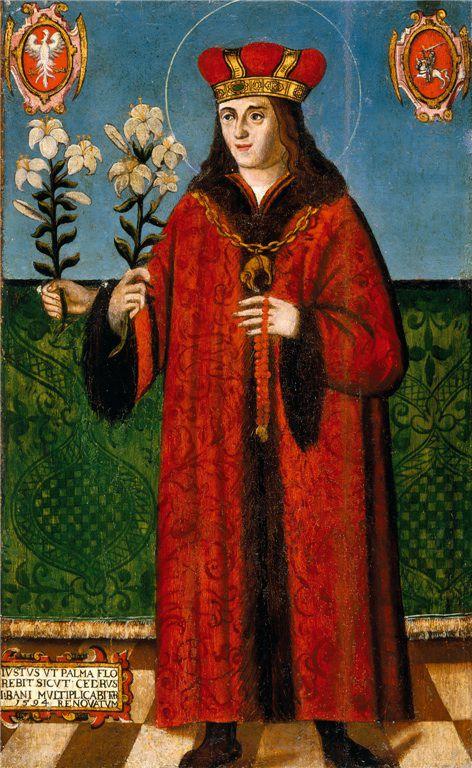 Saint Casimir, prince polonais