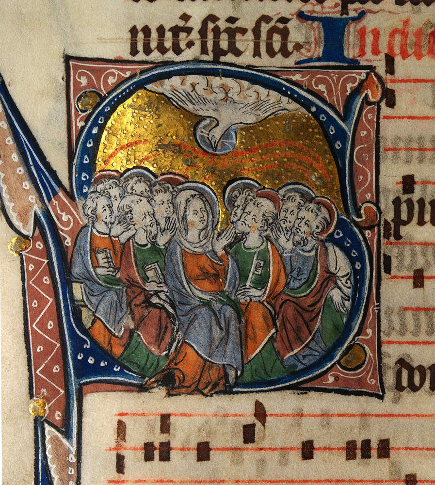La messe pascale en grégorien
