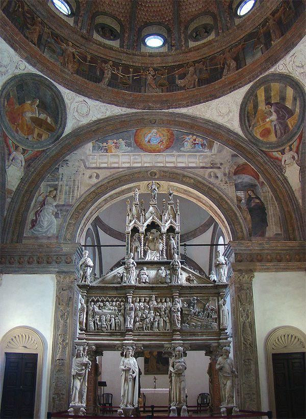 Tombeau de Saint Pierre de Vérone à Milan