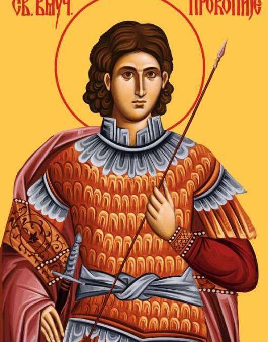 SAINT PROCOPE MARTYR SOUS DIOCLETIEN