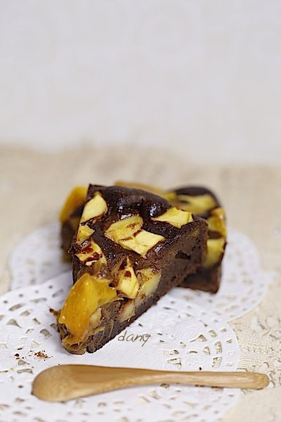 BROWNIE À LA MANGUE
