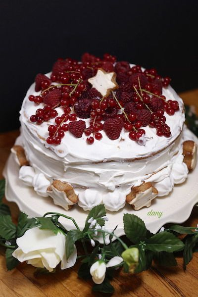 NAKED CAKE FRUITS ROUGES ET MASCARPONE