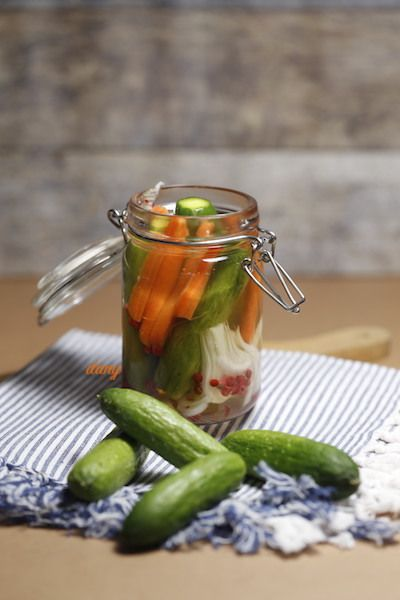 PICKLES DE MINI CONCOMBRES