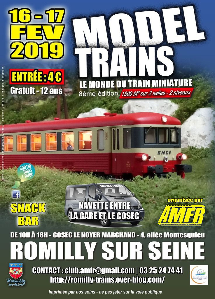 EXPO-BOURSE MODEL TRAINS 2019