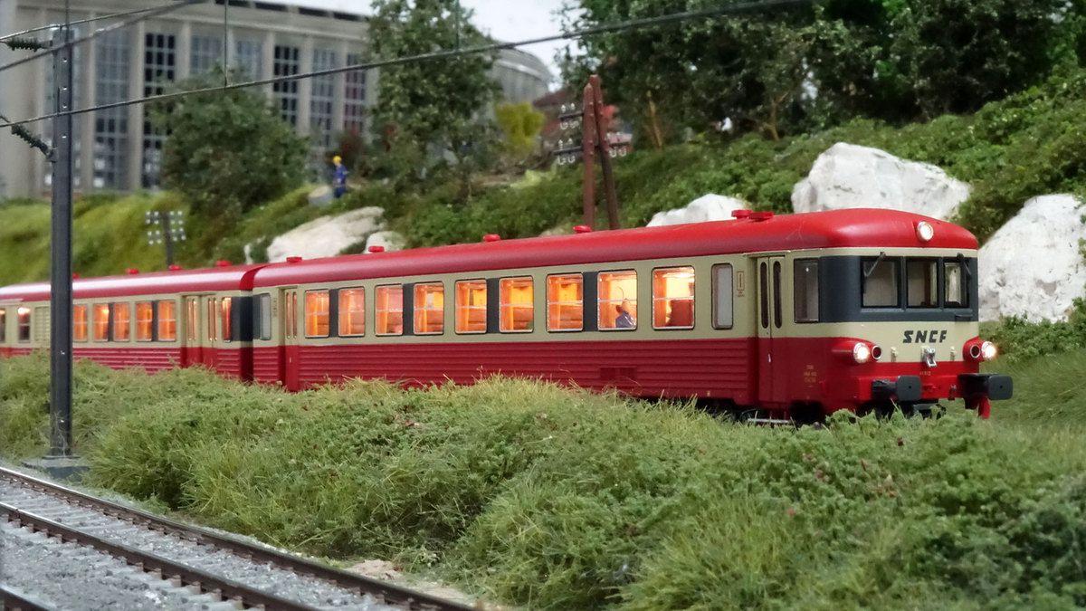 Prenez cet X 4300 pour venir à l'exposition MODEL TRAINS 2019 organisée par l'AMFR.