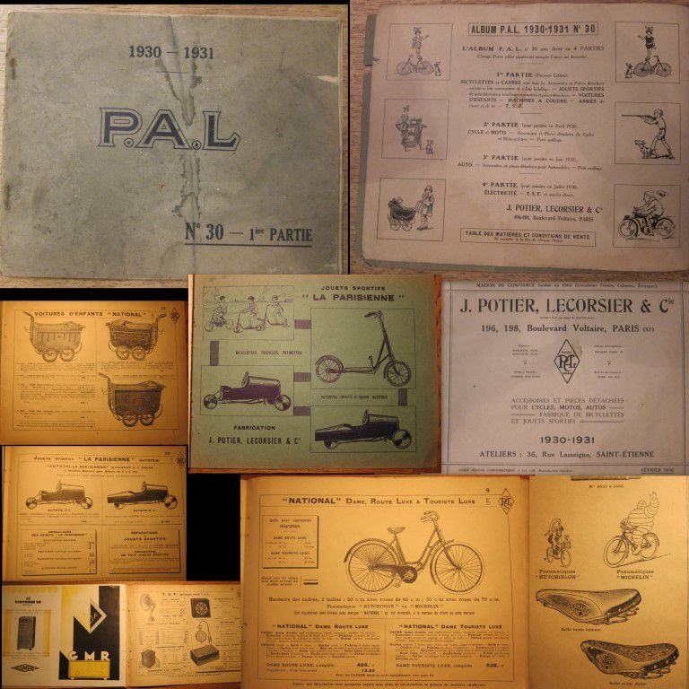 CATALOGUE PAL 1930