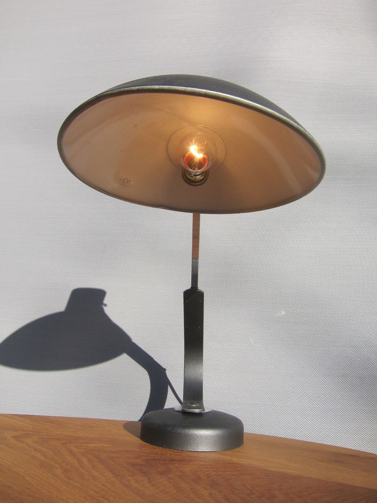 LAMPE DE BUREAU TELESCOPIQUE 1955 FERDINAND SOLERE - 135 euros