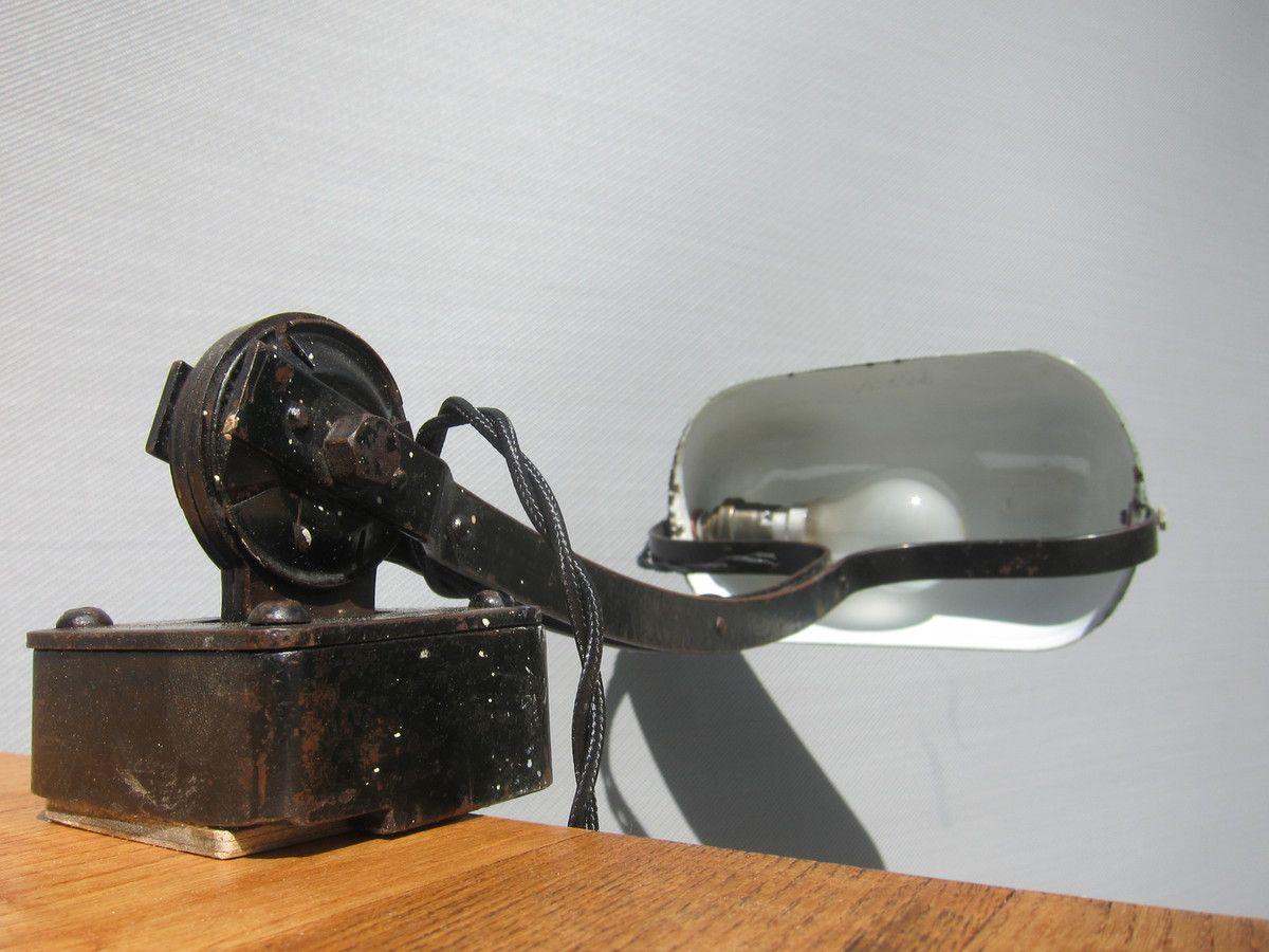 LAMPE ETAU MODERNISTE NIAM 1930 - 200 euros