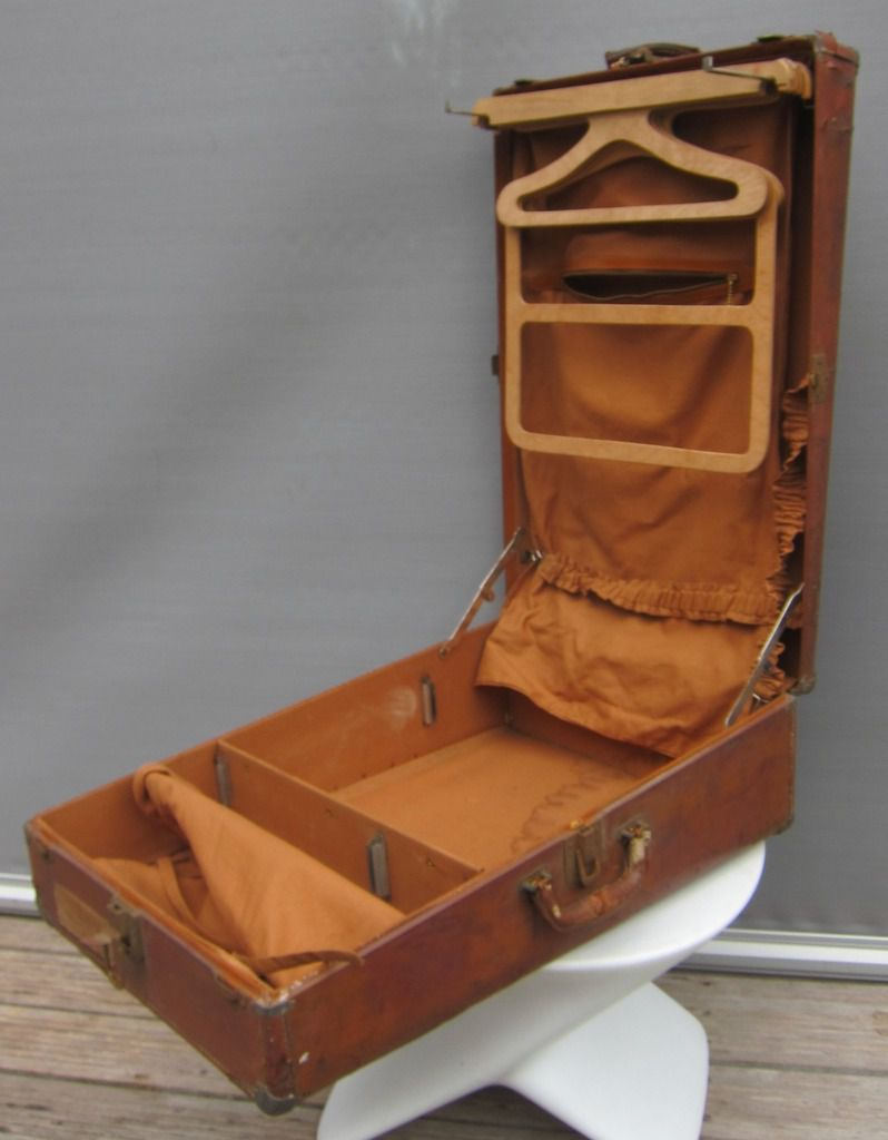 VALISE STEAMER WARDROBE 1940 PEERLESS USA - 30 euros