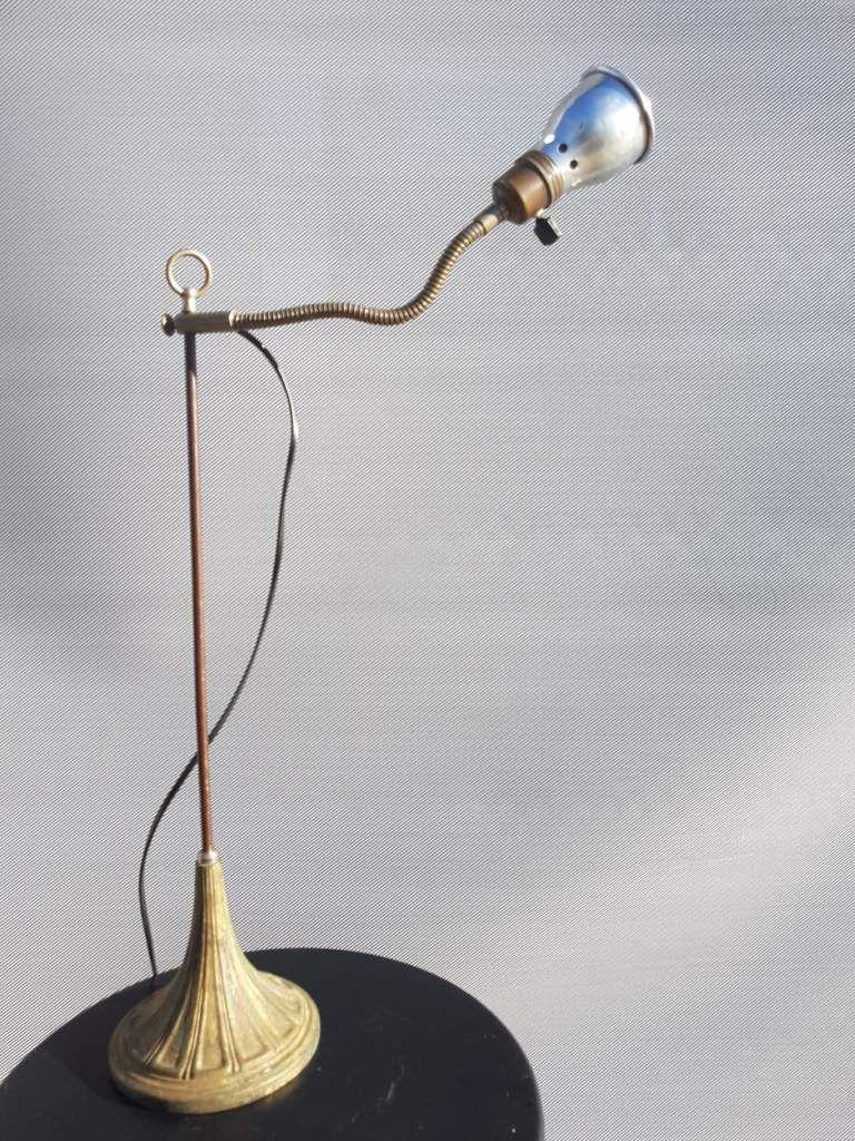 """LAMPE D'ETUDIANT 1920 """"LE CYCLOPE"""" - 70 euros"""