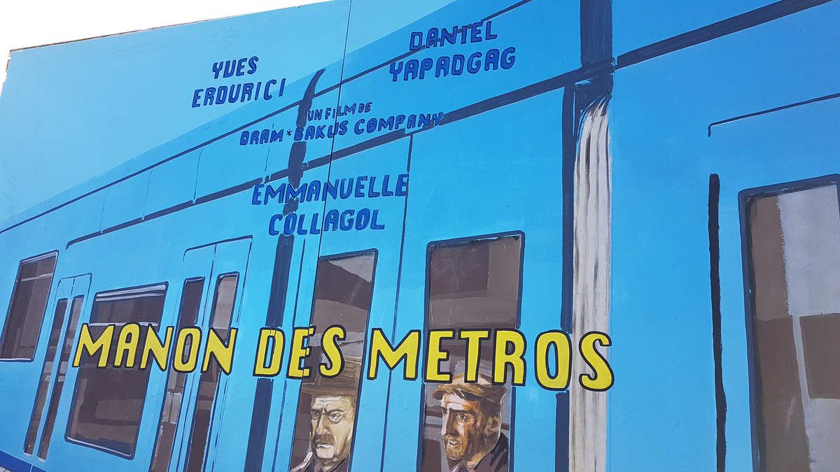 "DECOR THEATRE ""MANON DES METROS"" - 500 euros"