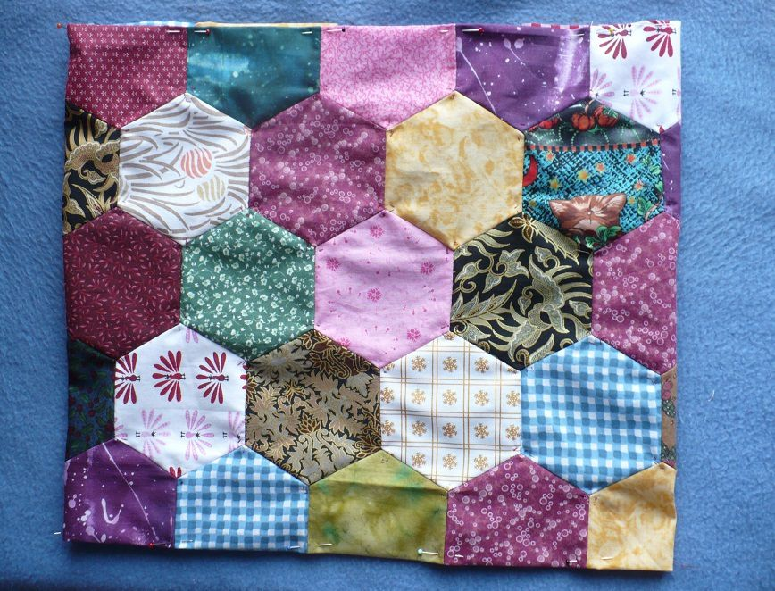 Tote bag patchwork fin